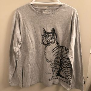 Tops - boutique | cat long sleeve